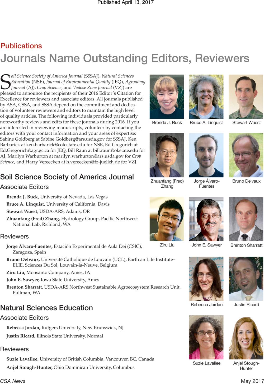 Sobre nosotros for American society of soil science